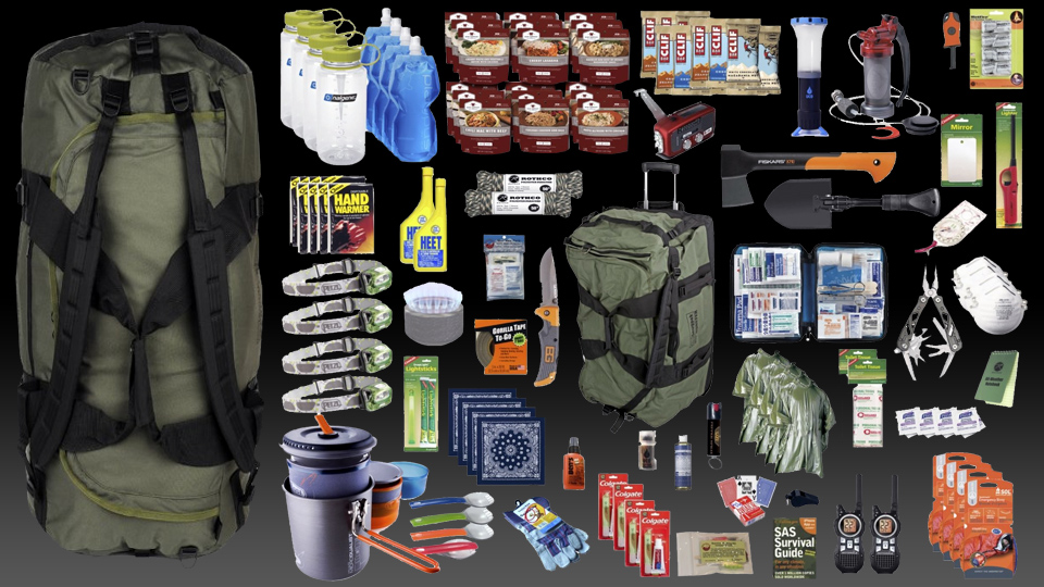 A Prepper's First Rite Of Passage Is Their Bug Out Bag